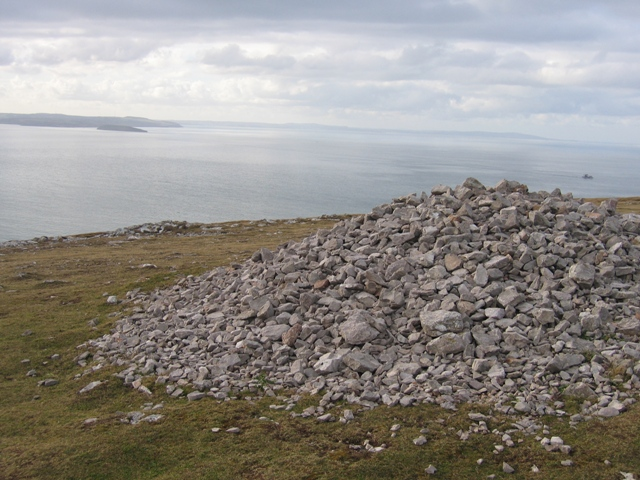 Cairn on the Great Orme and Puffin Island