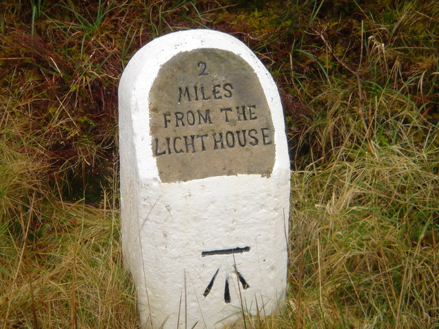 Milestone on Dunnet Head