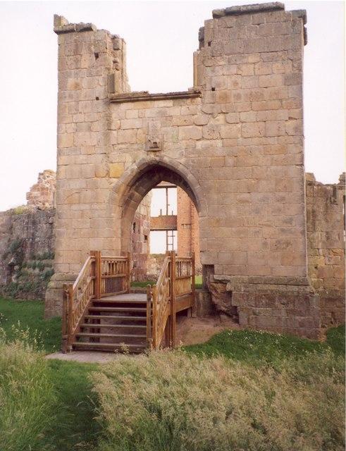 The Gatehouse to the castle, Moreton Corbet