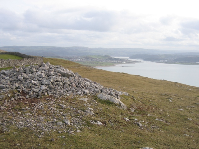 Cairn on the Great Orme and Deganwy