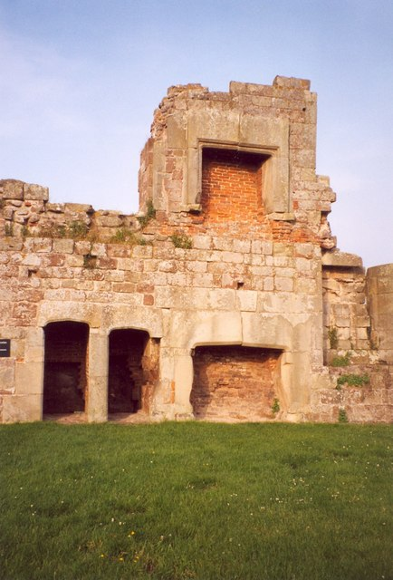 Tudor fireplaces, Moreton Corbet Castle