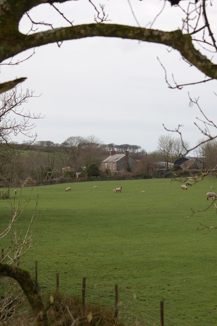 Virworthy Mill from the Bude Canal towpath