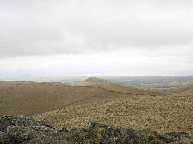 The summit plateau of Gyrn Goch