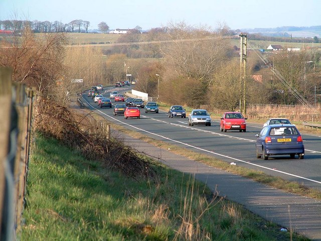 A77 North (from Holmston Roundabout)