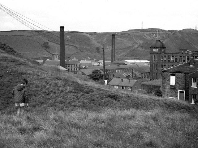 Facit Mill, Whitworth, Lancashire
