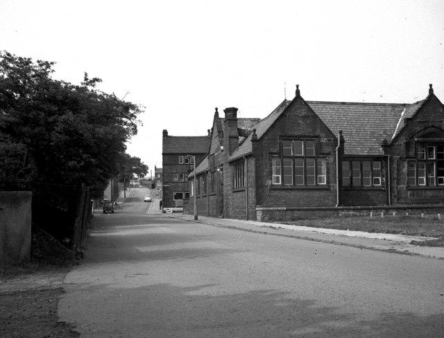 Mizzy Road and Cronkeyshaw School, Rochdale, Lancashire