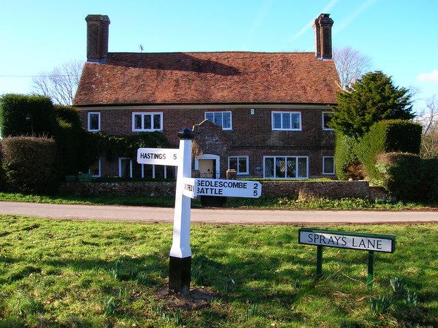Spraysbridge Farmhouse