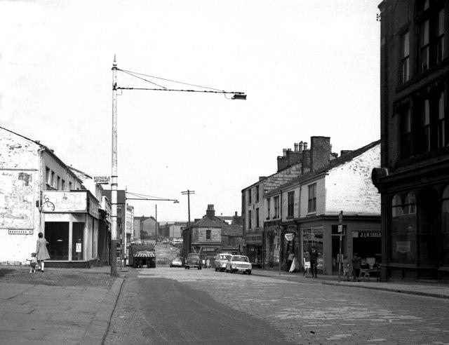 Cheetham Street, Rochdale, Lancashire