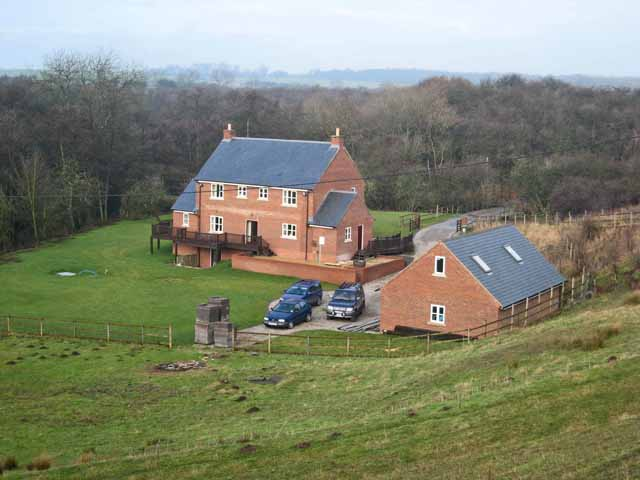 New houses near Embleton