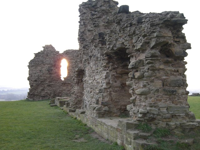 Upstanding Remains at Sandal Castle