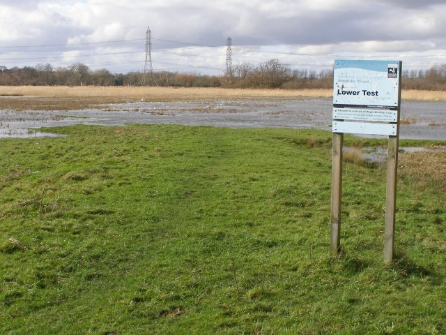 Lower Test nature reserve