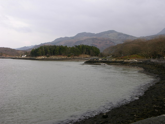 View of Mawddach estuary from Arthog