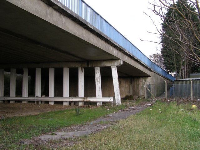 Beneath Redbridge Causeway