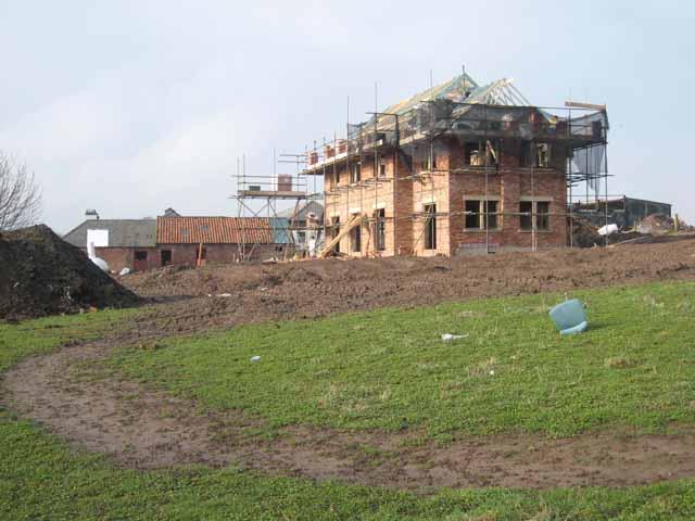 New house at Close Farm