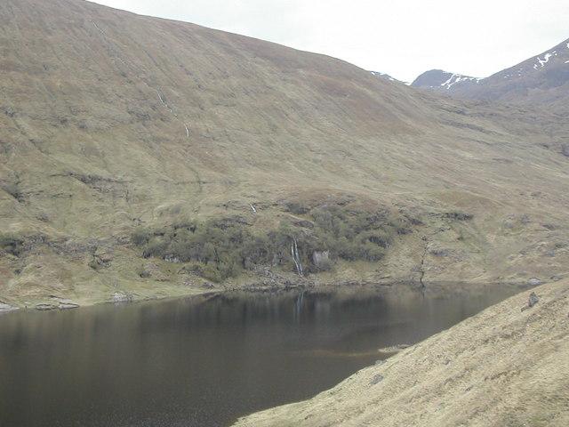 Waterfall Loch Mullardoch