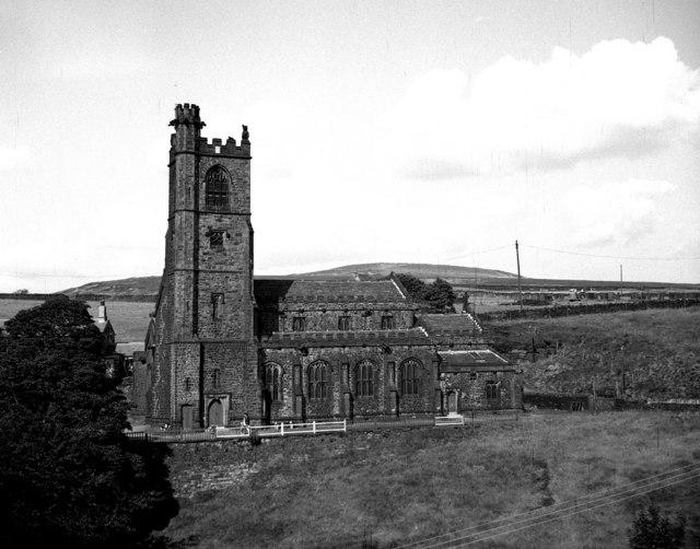 St, Bartholomew's Church, Whitworth, Lancashire