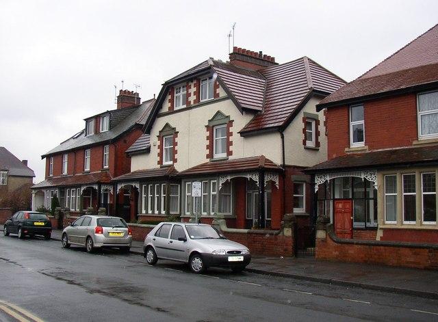 Houses, Roseville Road, off Knaresborough Road, Harrogate