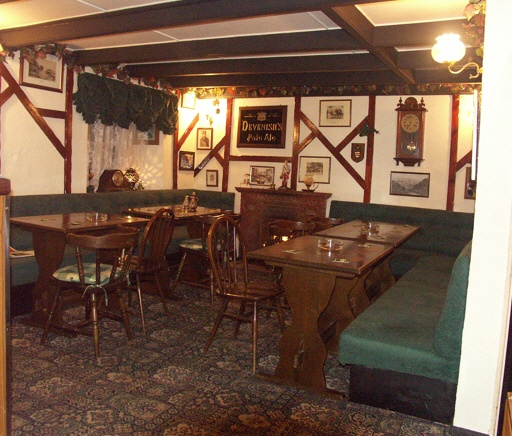 The Cornish Arms - Interior