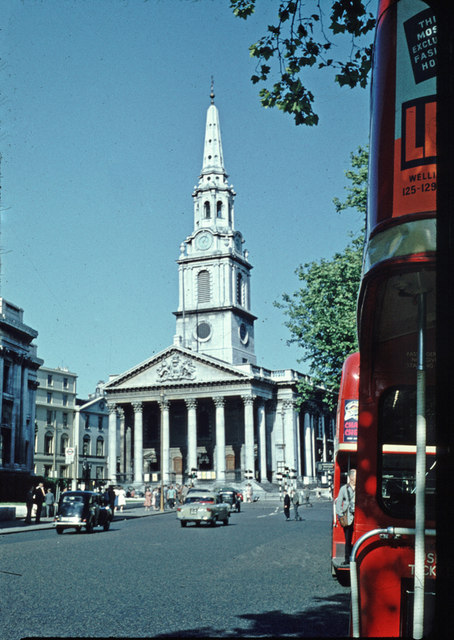 St. Martin's-in-the-Fields - 1959