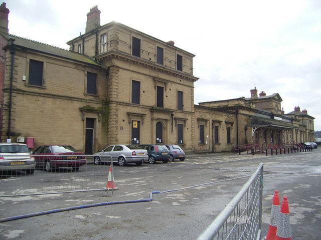 Kirkgate  Railway  Station  Wakefield
