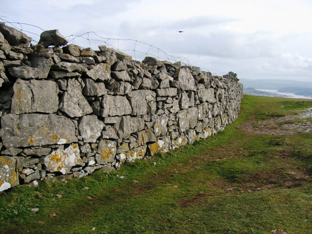 Curved Wall on the Great Orme