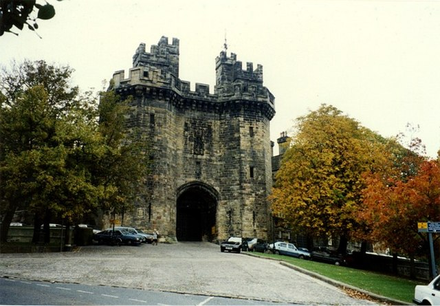 Entrance to Lancaster Castle