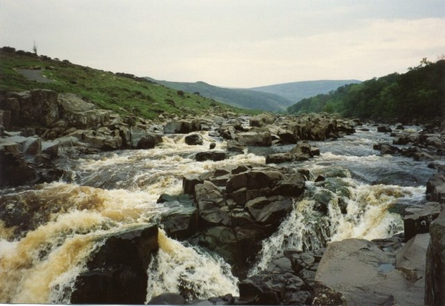 Rapids on the Tees above High Force
