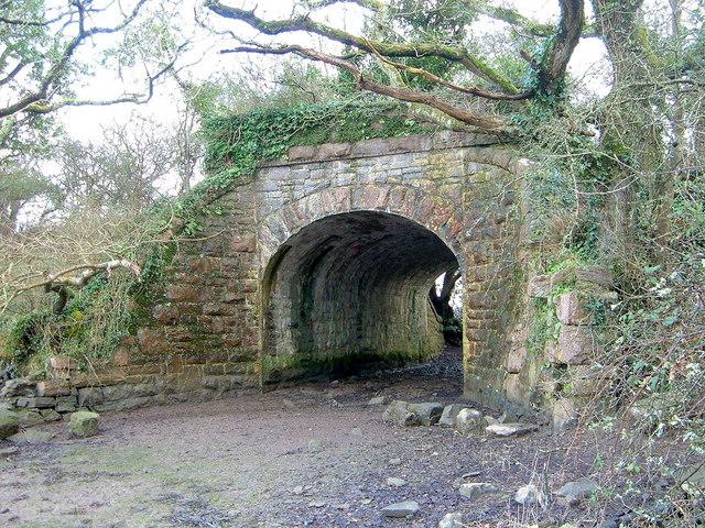 Bridge Carrying dismantled Railway