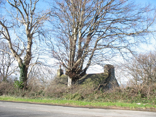 Mur Mawr - a traditional cottage on the outskirts of Gyrn Goch