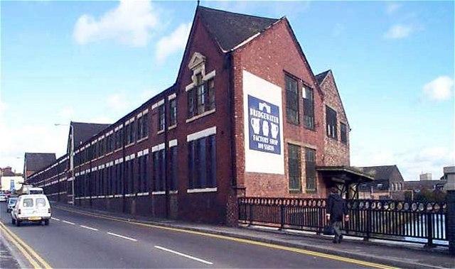 Bridgewater Pottery Works, Eastwood, Hanley