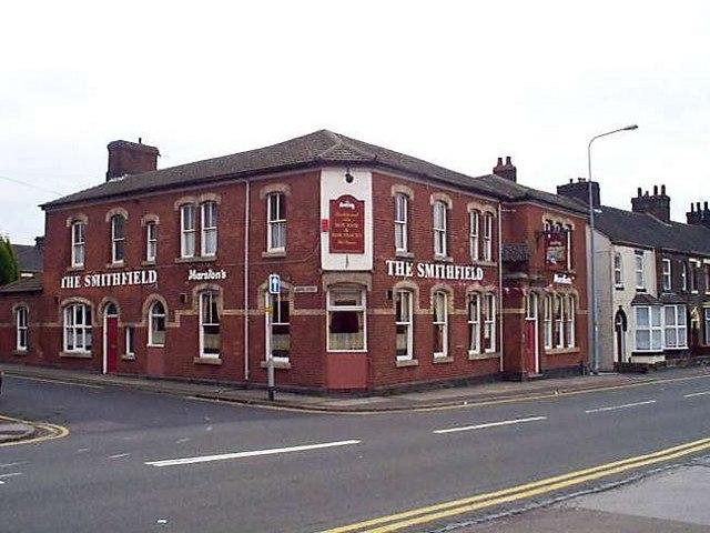 The Smithfield public house, Hanley