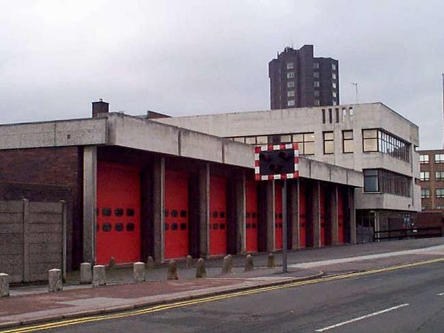 Hanley Fire Station