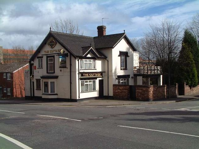 The Cottage Public House, Oak Hill, Stoke