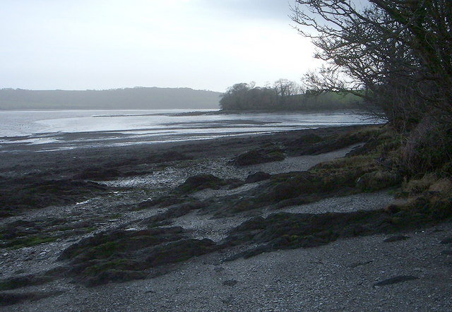 View across to Ince Point from Shillingham Point