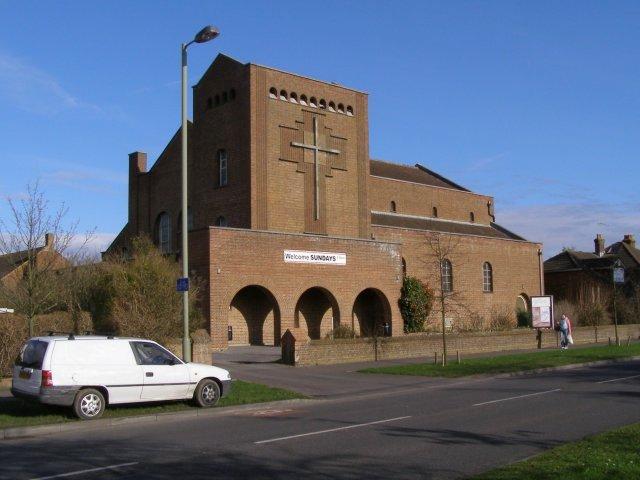St Winfrid's Church, Salisbury Road, Totton