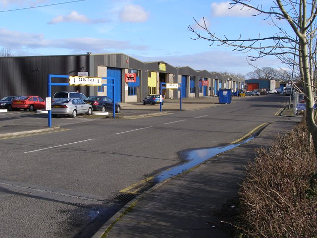 Stephenson Road, Calmore Industrial Park