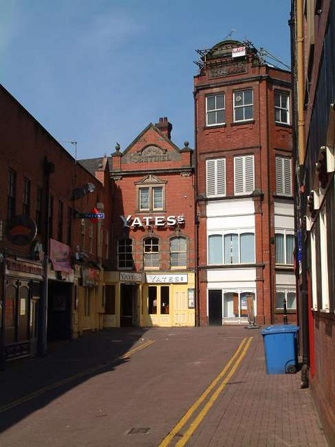 Yates's Wine Lodge, Hanley