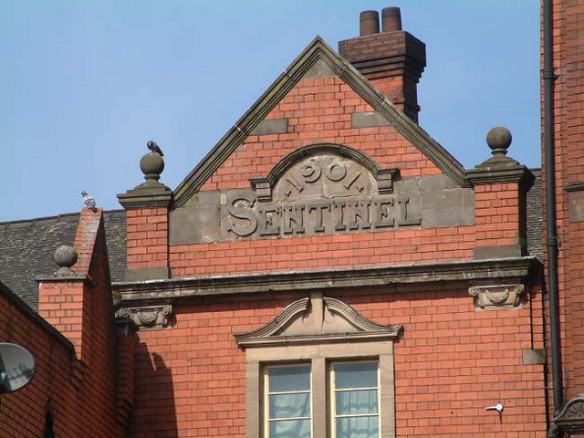 Sentinel Newspaper Offices (previous), Hanley