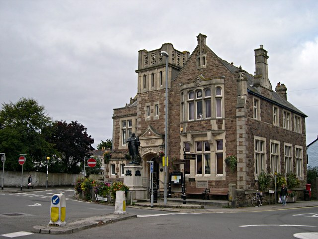 The Camborne Library Building