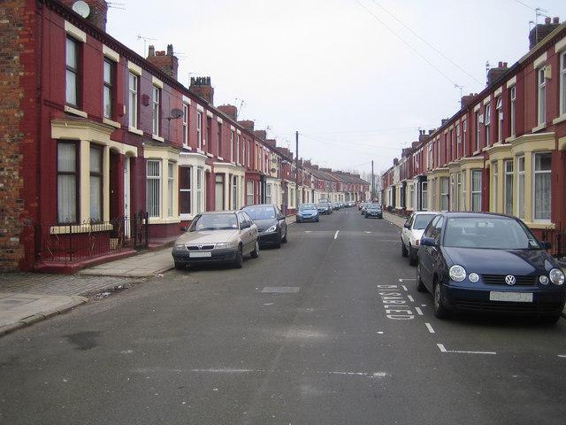 Liverpool: Tiverton Street, Wavertree, L15