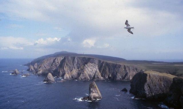 West cliffs of Fair Isle