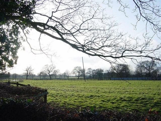 Cheshire farmland