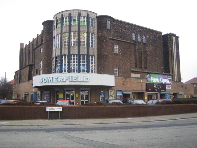 Liverpool: The former Abbey Cinema, Wavertree, L15