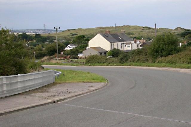 Houses near Treeve Farm