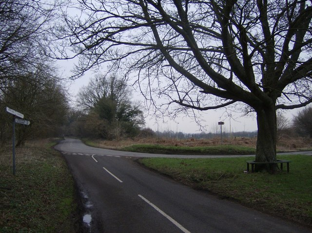 Minor junction south of Hungerford