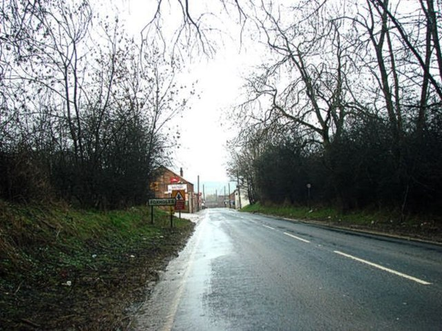 Entering Foxholes from the North