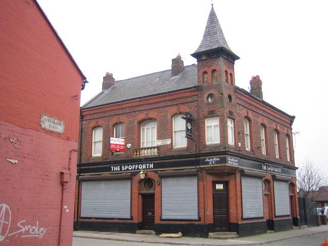 Liverpool: The Spofforth Public House, Edge Hill, L7