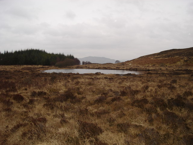 Lochan west of Achavaich Farm