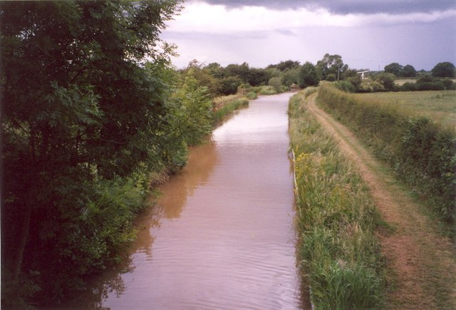 The canal at Dobson's Bridge, Whixall