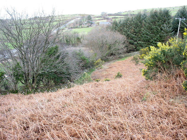 The downslope path to the A499